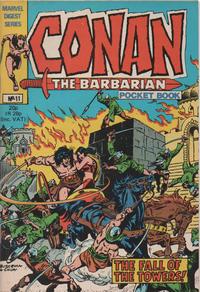 Cover Thumbnail for Conan Pocket Book (Marvel UK, 1980 series) #11