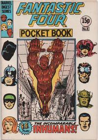 Cover Thumbnail for Fantastic Four Pocket Book (Marvel UK, 1980 series) #6
