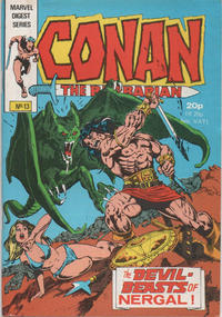 Cover Thumbnail for Conan Pocket Book (Marvel UK, 1980 series) #13