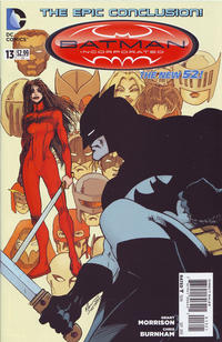 Cover Thumbnail for Batman Incorporated (DC, 2012 series) #13 [Grant Morrison Variant Cover]