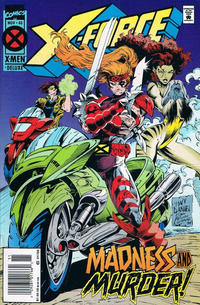 Cover Thumbnail for X-Force (Marvel, 1991 series) #40 [Deluxe Newsstand Edition]