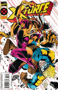 Cover for X-Force (Marvel, 1991 series) #41 [Deluxe Direct Edition]