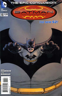 Cover Thumbnail for Batman Incorporated (DC, 2012 series) #13