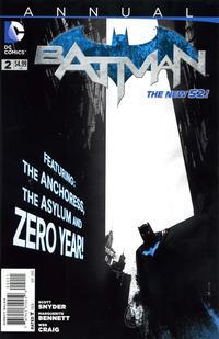 Cover Thumbnail for Batman Annual (DC, 2012 series) #2