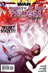 Cover Thumbnail for Trinity of Sin: Pandora (DC, 2013 series) #2