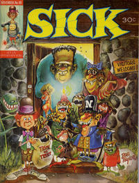 Cover Thumbnail for Sick (Prize, 1960 series) #48