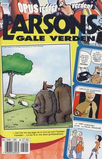 Cover Thumbnail for Larsons gale verden (Bladkompaniet / Schibsted, 1992 series) #9/2004