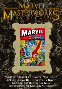 Cover Thumbnail for Marvel Masterworks: Golden Age Marvel Comics (Marvel, 2004 series) #7 (183) [Limited Variant Edition]