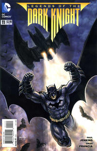 Cover Thumbnail for Legends of the Dark Knight (DC, 2012 series) #11