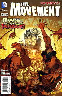 Cover Thumbnail for The Movement (DC, 2013 series) #4
