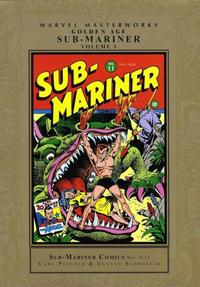 Cover Thumbnail for Marvel Masterworks: Golden Age Sub-Mariner (Marvel, 2005 series) #3 [Regular Edition]