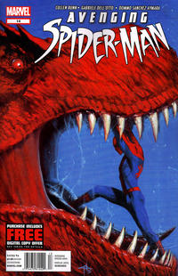 Cover Thumbnail for Avenging Spider-Man (Marvel, 2012 series) #14 [Newsstand]