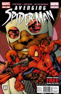 Cover Thumbnail for Avenging Spider-Man (Marvel, 2012 series) #13 [Newsstand]