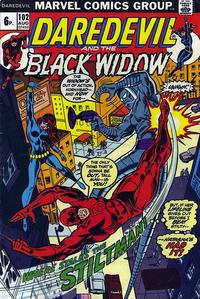 Cover Thumbnail for Daredevil (Marvel, 1964 series) #102 [British]