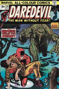 Cover Thumbnail for Daredevil (Marvel, 1964 series) #114 [British]