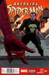 Cover Thumbnail for Avenging Spider-Man (Marvel, 2012 series) #22 [Newsstand]