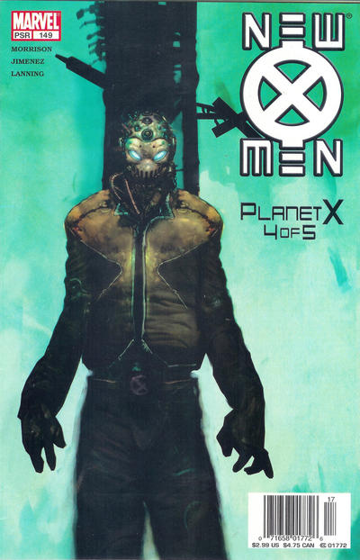 Cover for New X-Men (Marvel, 2001 series) #149 [Newsstand Edition]