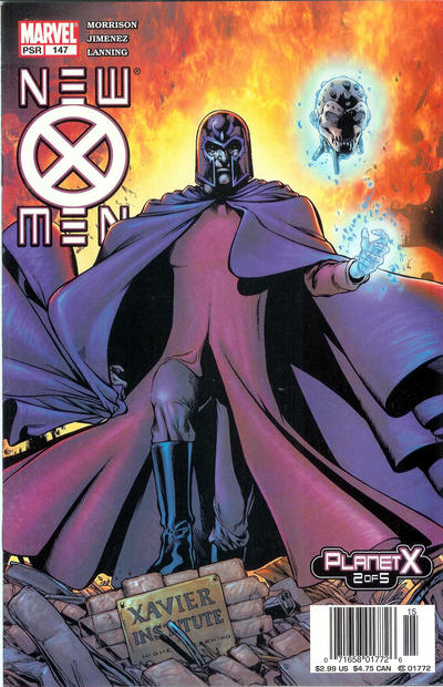 Cover for New X-Men (Marvel, 2001 series) #147 [Direct Edition]