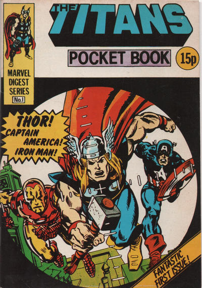 Cover for Titan Pocket Book (Marvel UK, 1980 series) #1