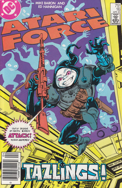 Cover for Atari Force (DC, 1984 series) #16 [Direct Edition]