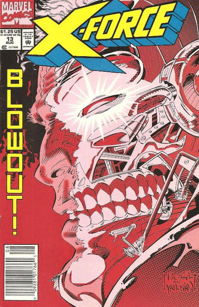 Cover for X-Force (Marvel, 1991 series) #13 [Newsstand]