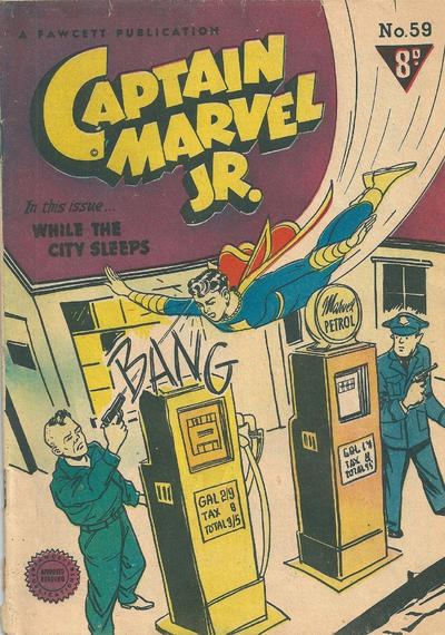 Cover for Captain Marvel Jr. (Cleland, 1947 series) #59