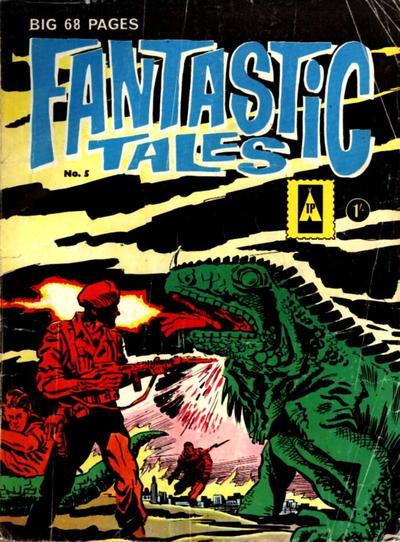 Cover for Fantastic Tales (Thorpe & Porter, 1963 series) #5