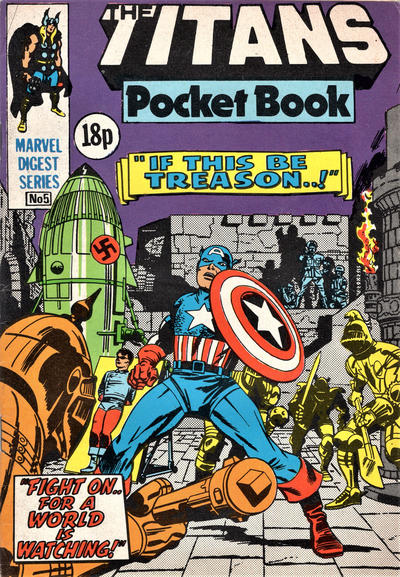 Cover for Titan Pocket Book (Marvel UK, 1980 series) #5
