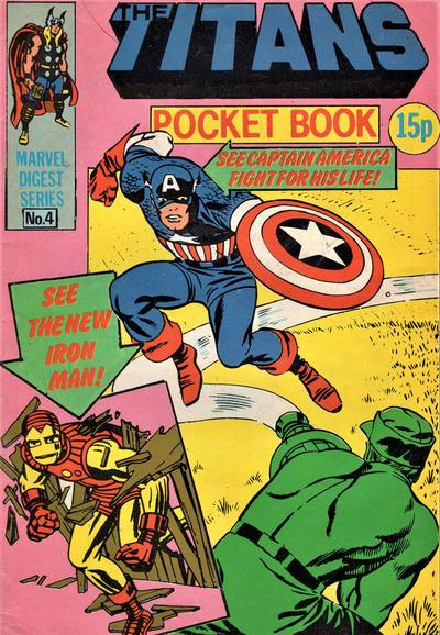 Cover for Titan Pocket Book (Marvel UK, 1980 series) #4