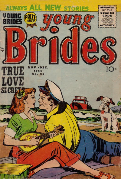 Cover for Young Brides (Prize, 1952 series) #v3#7 (25)