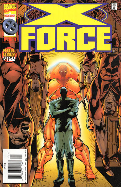 Cover for X-Force (Marvel, 1991 series) #49 [Newsstand]
