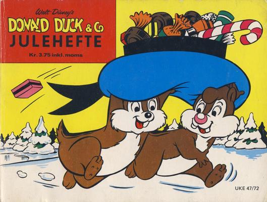 Cover for Donald Duck & Co julehefte (Hjemmet / Egmont, 1968 series) #1972