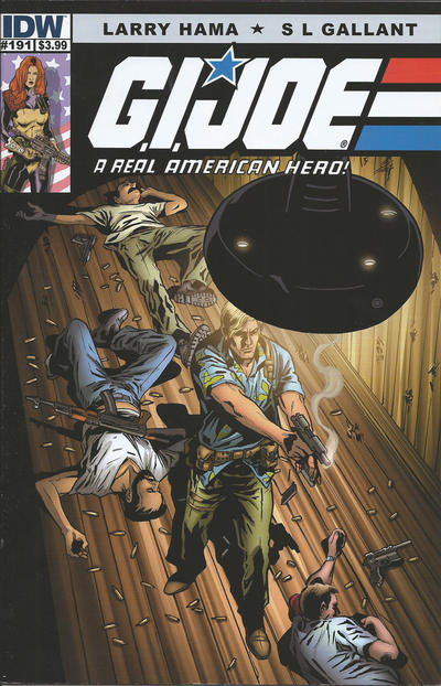 Cover for G.I. Joe: A Real American Hero (IDW, 2010 series) #191