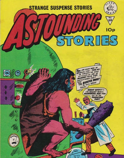 Cover for Astounding Stories (Alan Class, 1966 series) #109