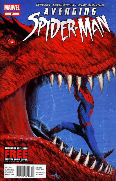 Cover for Avenging Spider-Man (Marvel, 2012 series) #14 [Direct Edition]