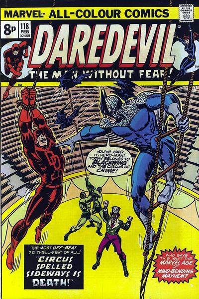 Cover for Daredevil (Marvel, 1964 series) #118 [Regular Edition]