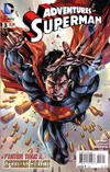 Cover for Adventures of Superman (DC, 2013 series) #3