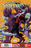 Cover for Avenging Spider-Man (Marvel, 2012 series) #17 [Newsstand Edition]