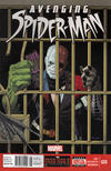 Cover for Avenging Spider-Man (Marvel, 2012 series) #20 [Newsstand]