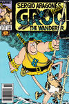 Cover for Sergio Aragonés Groo the Wanderer (Marvel, 1985 series) #57 [Newsstand]
