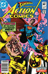 Cover Thumbnail for Action Comics (1938 series) #547 [Newsstand]
