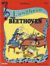 Cover for Langbein album (Hjemmet / Egmont, 1977 series) #5 - Langbein van Beethoven