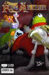 Cover Thumbnail for Muppet King Arthur (2009 series) #1 [Cover B]
