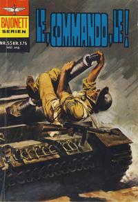 Cover Thumbnail for Bajonett serien (Illustrerte Klassikere / Williams Forlag, 1967 series) #55