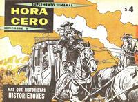 Cover Thumbnail for Hora Cero Suplemento Semanal (Editorial Frontera, 1957 series) #106