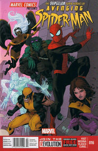 Cover for Avenging Spider-Man (Marvel, 2012 series) #16