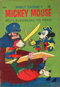 Cover Thumbnail for Walt Disney's Mickey Mouse (W. G. Publications; Wogan Publications, 1956 series) #134