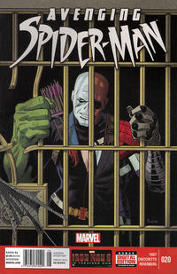 Cover for Avenging Spider-Man (Marvel, 2012 series) #20 [Direct Edition]