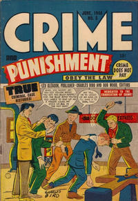 Cover Thumbnail for Crime and Punishment (Superior Publishers Limited, 1948 ? series) #3