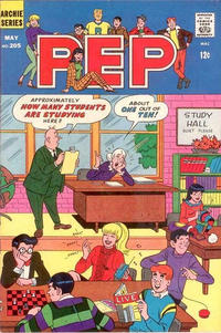 Cover Thumbnail for Pep (Archie, 1960 series) #205